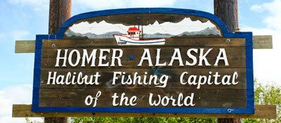 Homer Alaska is the halibut fishing capital of Alaska